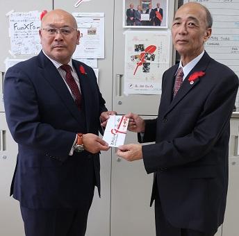(公社)和歌山県労働者福祉協議会様からご寄付を頂きました