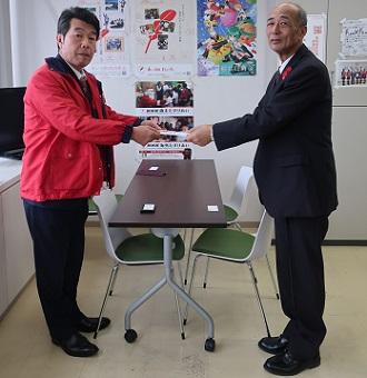 和歌山ヤクルト販売(株)様からご寄付を頂きました